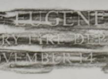 George-Eugene-Walker-Rubbing