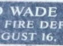 Ronald-Wade-Meshell-Plate