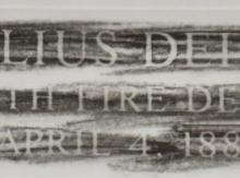 Julius Deiser Rubbing