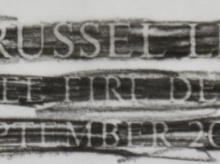 Walter-Russel-Leonard-JR-Rubbing